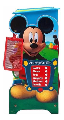 delta mickey mouse organizador infantil juguetes niños