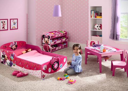 delta minnie mouse bin organizer 9 cajones juguetes niña