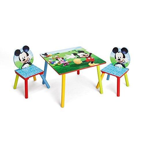 Delta ni os mesa y juego de sillas de mickey mouse 3 en mercado libre - Juego de mesa y sillas para ninos ...