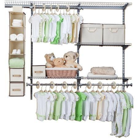delta - sistema de almacenaje de 48 piezas infantiles,