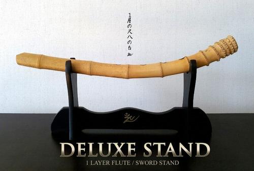 deluxe stand - estante para flauta o espada