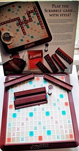 deluxe turntable scrabble 1989 edition