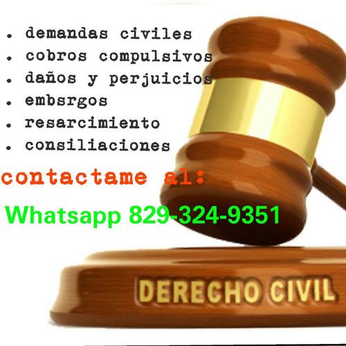 demandas civiles