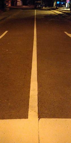 demarcacion de vías  bodegas y parqueaderos