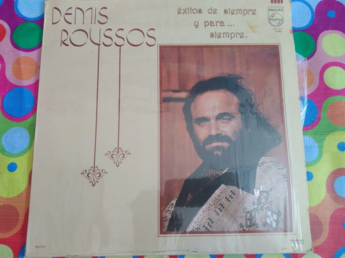 demis roussos lp exitos de siempre y para siempre 1984 r