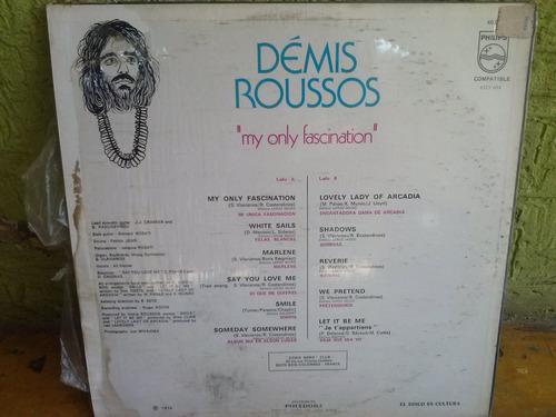 demis roussos.my only fascination.lp vinil. usado como nuevo