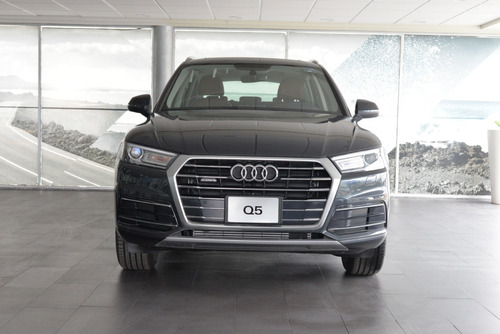 demo audi q5 45 tfsi select quattro 2020 gris manh / marron