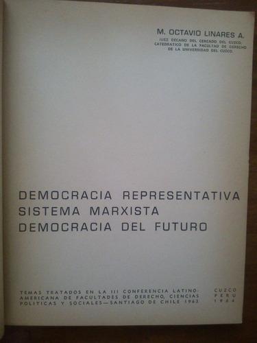 democracia representativa sistema marxista... linares a.