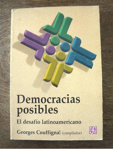 democracias posibles, georges couffignal, ed. fce