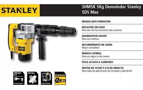 demoledor 1010w sds max stanley shm5k stanley
