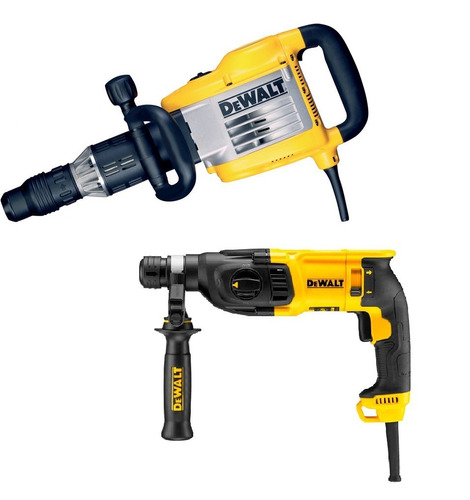 demoledor sds max + rotomartillo sds plus dewalt d25901k