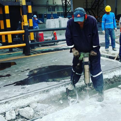 demolicion - martillos rompedores - compresores