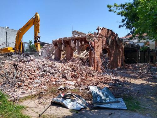 demoliciones - demolición - alquiler de equipos