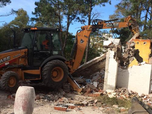 demoliciones- excavaciones- construcciones