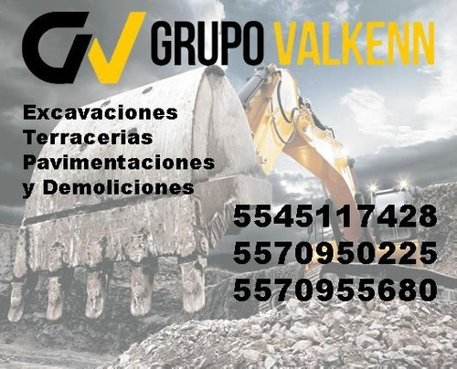 demoliciones excavaciones terracerias y pavimentaciones