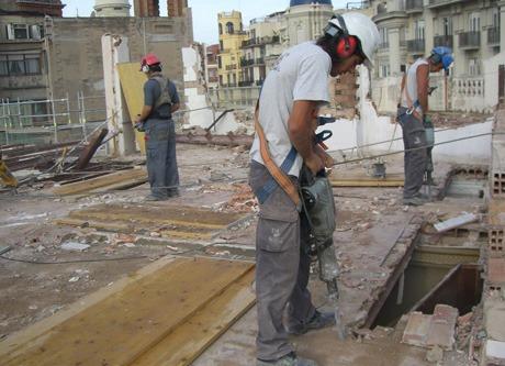 demoliciones  movimiento de suelo obras terminadas m2