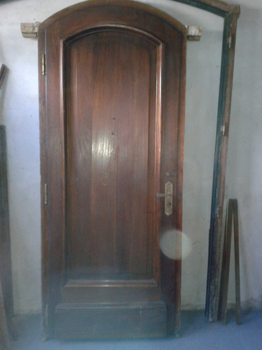 demolicion/portones/puertas/ventanas hierro y cedro macizo