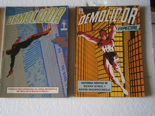 demolidor - 3 volumes  raros e antigos
