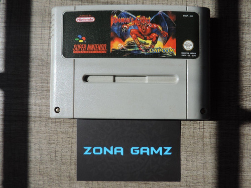 demon's crest super famicom snes zonagamz