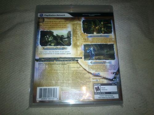 demons souls -  ps3 nuevo y sellado playstation 3