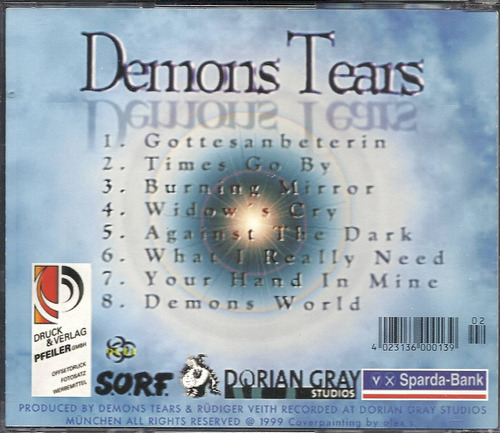 demons tears twilight wings 1999 gothic cd(nm/nm)(germany)**