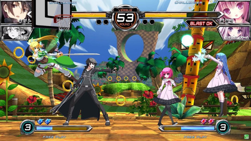 dengeki bunko: fighting climax ps3 digital