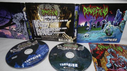 denial fiend - the rise (digipack cd + dvd the accüsed dri o