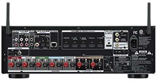 denon avr-x1300w 7.2 canales full 4k ultra hd av receptor...