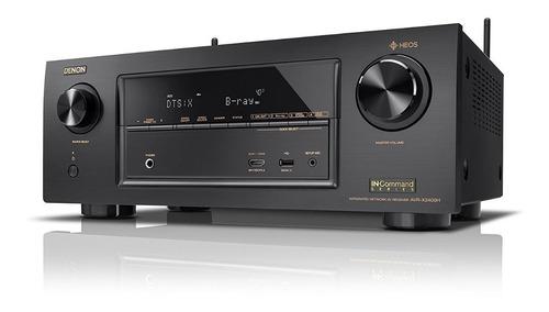 denon avr-x2600h 95 watts 7.2 amplificador audio video 4k