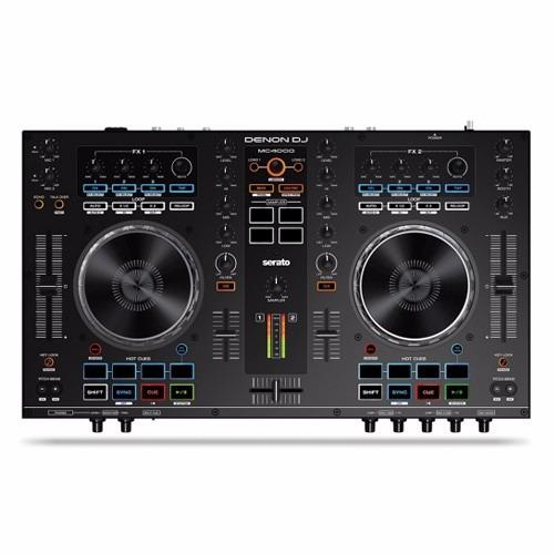 denon mc4000 controlador dj serato 2 canales midi usb nuevo