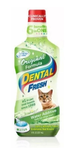dental fresh original gatos higiene bucal 8 oz