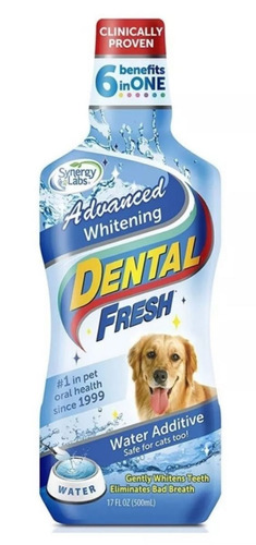 dental fresh perros higiene bucal dientes blancos 17oz