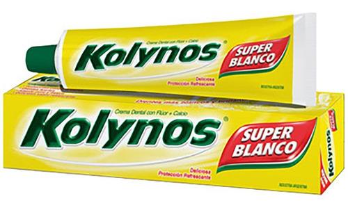 dentifrico kolynos crema pasta dental 70g original big.shop