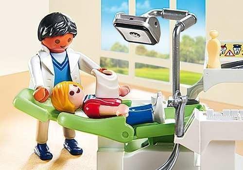 dentista con paciente playmobil pm6662 r3562
