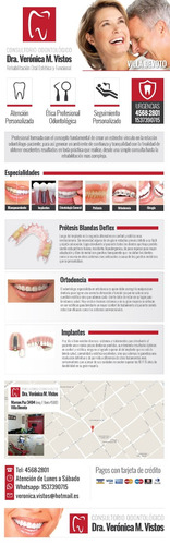dentista - consultorio odontológico - villa devoto cap fed