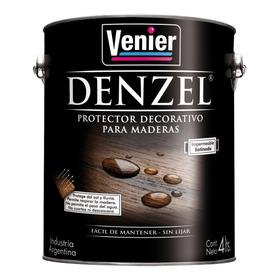 Denzel Venier Lasur X 4 Lts Protector Para Maderas Brillante
