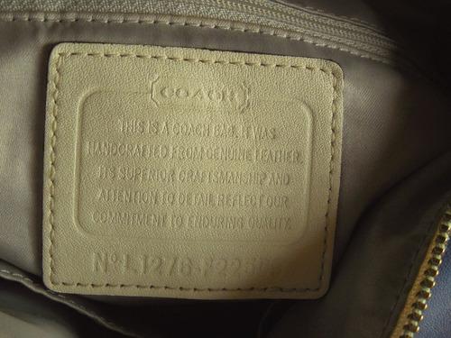 deocasión bolso mediano de lujo coach original 100% cuero