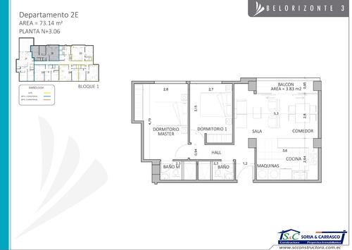 dep. 1,2 y 3 dormitorios, el condado, 70000$, por estrenar.