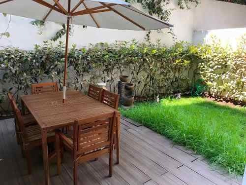 depa con jardín privado en tizapan san angel