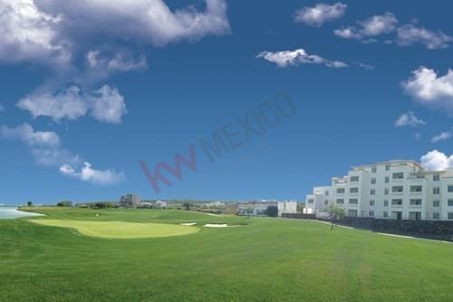 depa en venta frente al campo de golf / zibatá / querétaro
