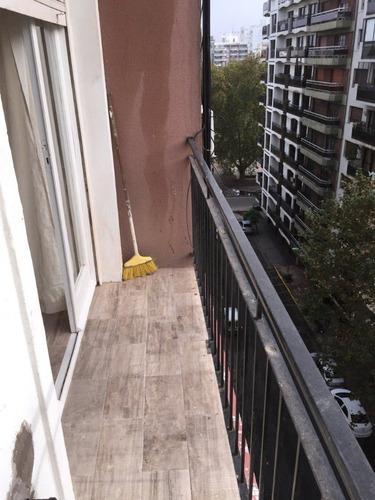 departamento 1 ambiente a la calle con balcon en venta mar del plata