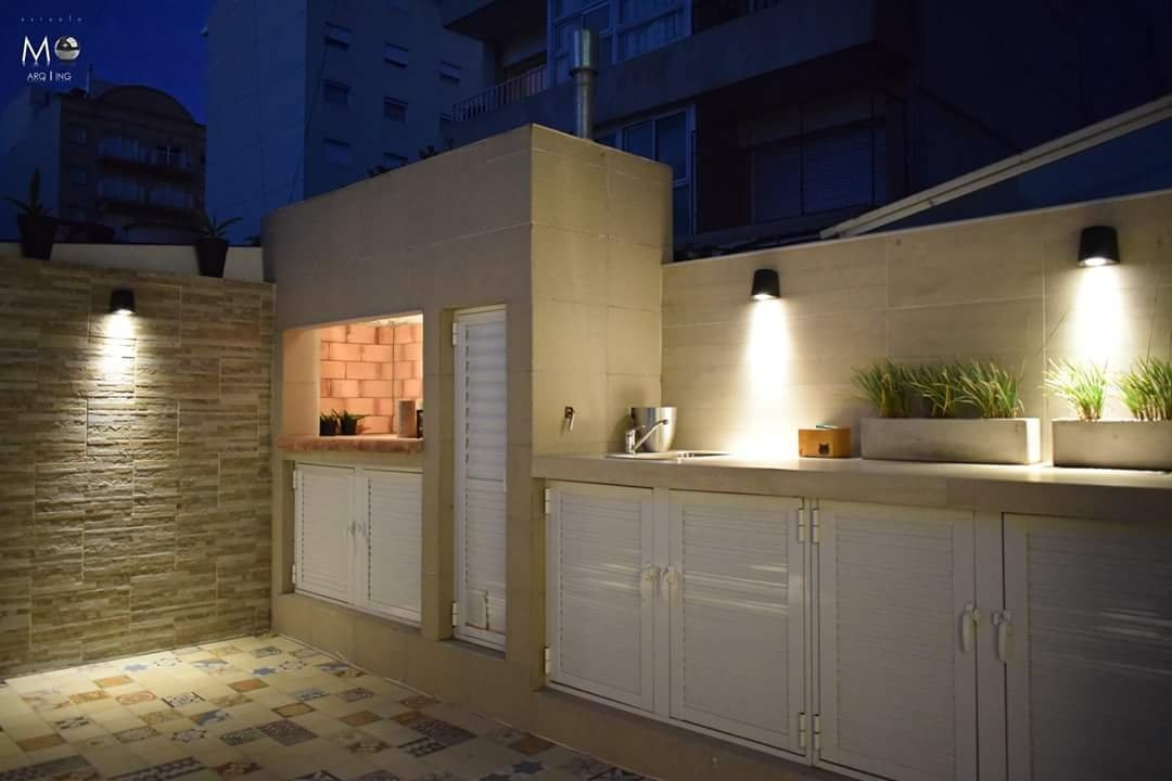 departamento 1 ambiente, patio solarium-la perla