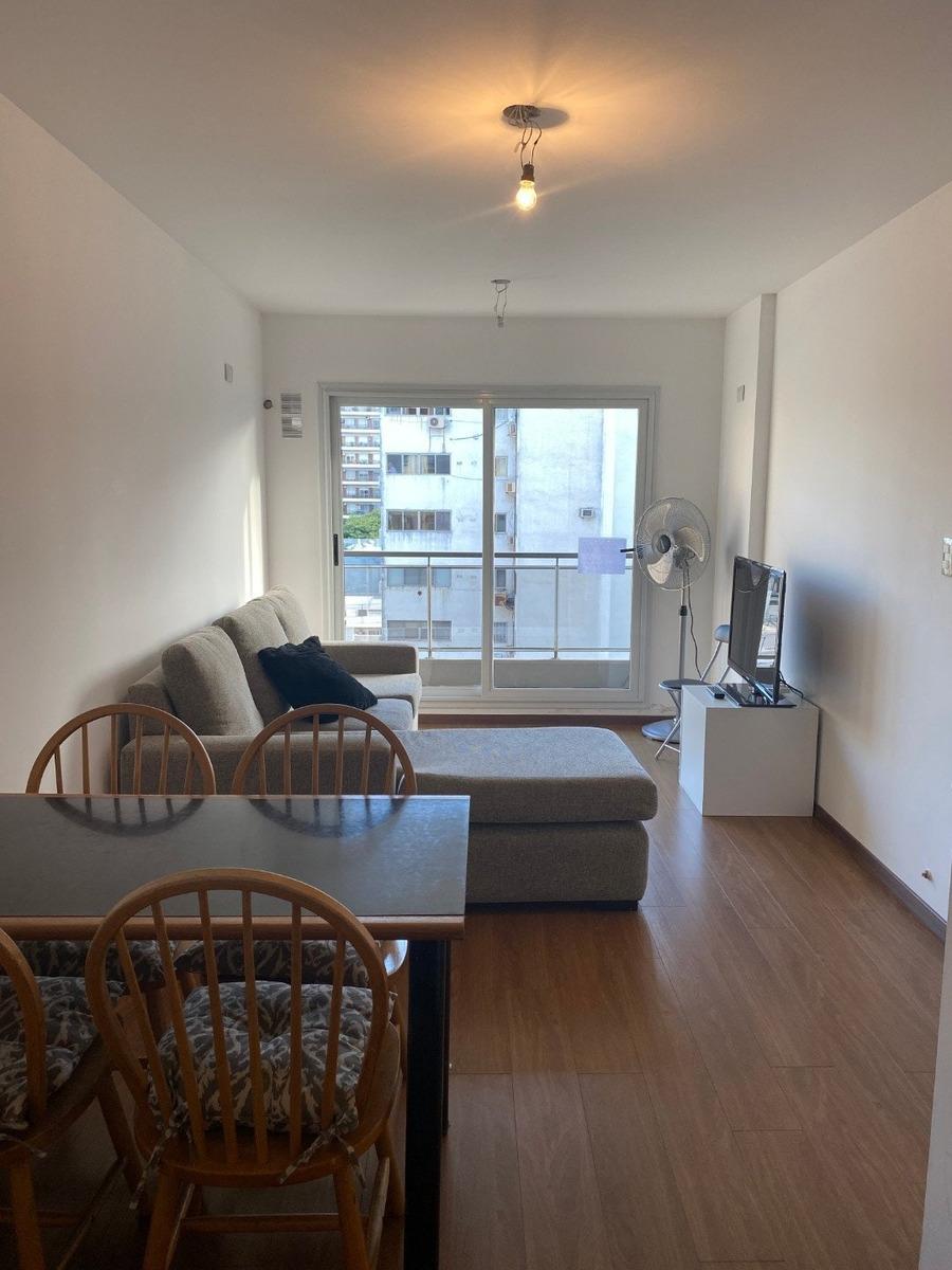departamento 1 con balcon al frente - barrio martin - escritura inmediata