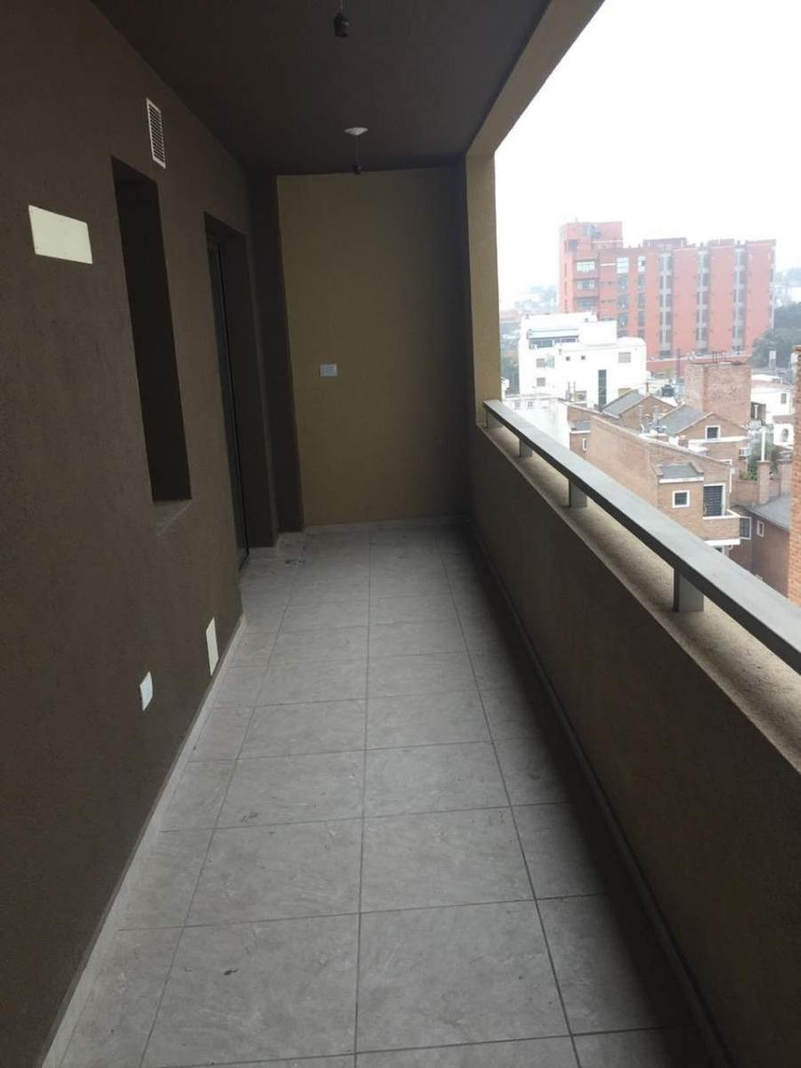 departamento 1 dorm con gran balcon  barrio gral paz