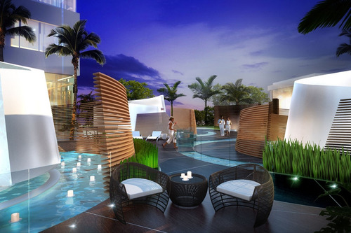 departamento 1 dorm + den- paramount at miami world center