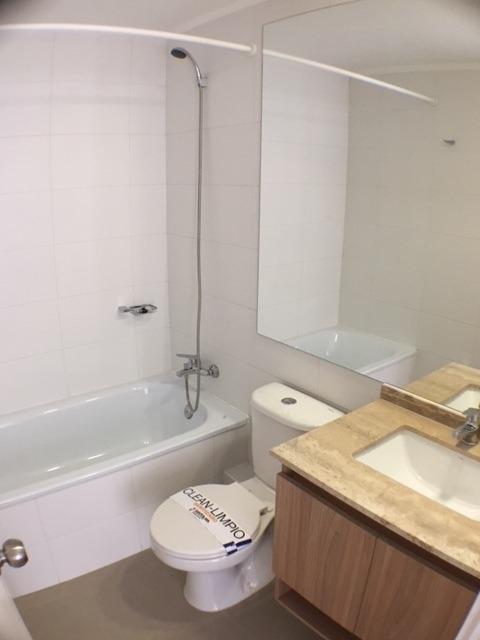 departamento 1 dormitorio 1 baño, piscina,metro santa isabel