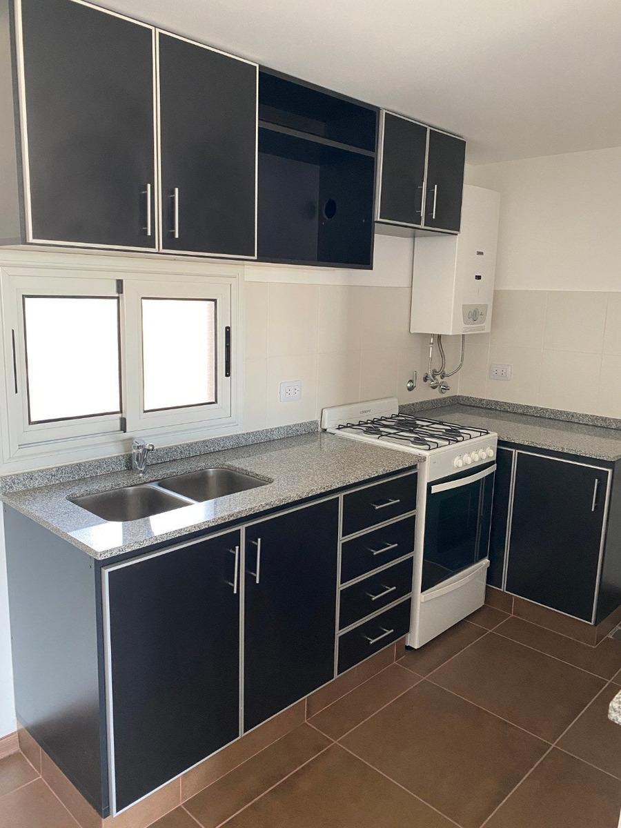 departamento 1 dormitorio  a estrenar - paraguay 2223 - terraza con parrillero