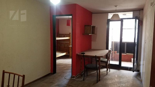 departamento 1 dormitorio c/ balcón a mts de cañada.