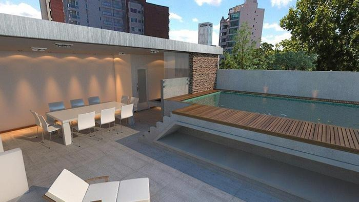 departamento 1 dormitorio. cafferata 1545. amenities. coworking