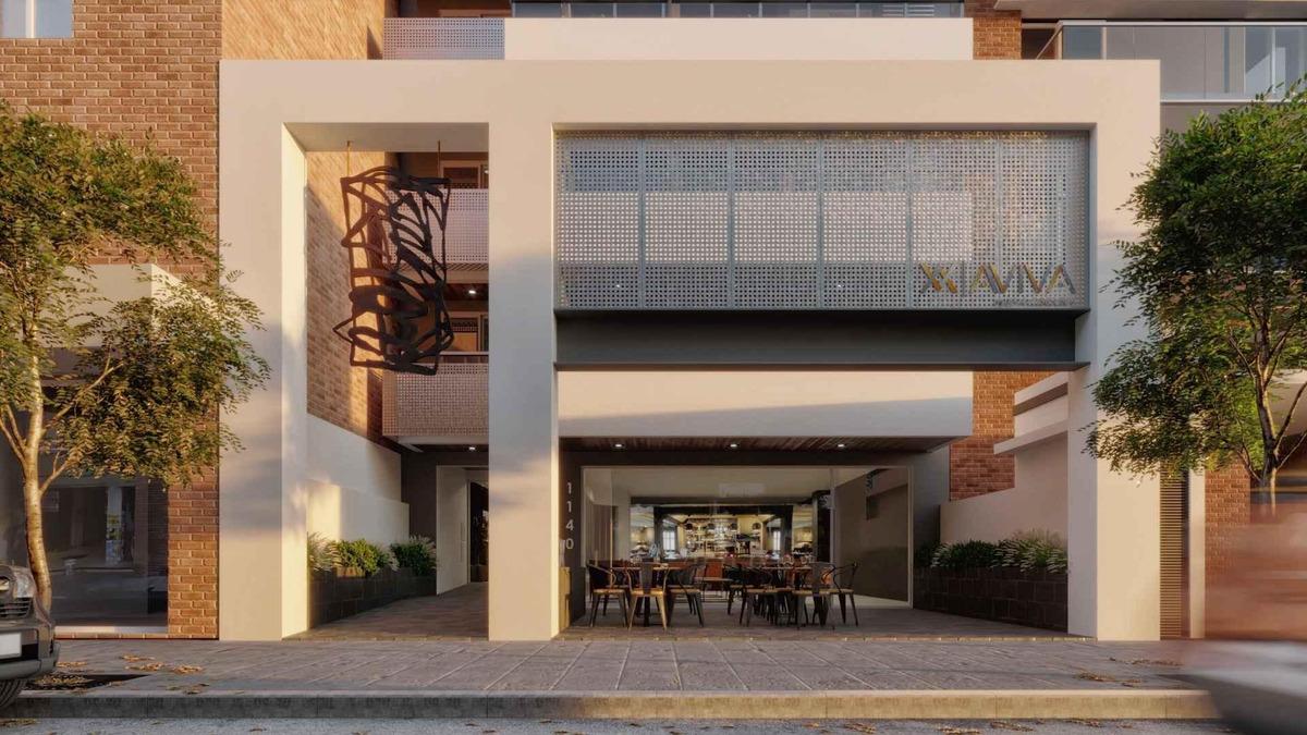 departamento 1 dormitorio con balcón asador